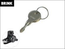 Náhradní klíč pro čep Brinkmatic BMU - číslo vyraženo na zámku