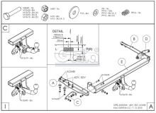 Tažné zařízení Opel Insignia 4/5 dv./ kombi, od 2008