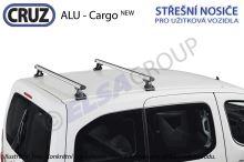 Střešní nosič Citroen Nemo / Fiat Fiorino / Peugeot Bipper (2 příčníky), CRUZ ALU Cargo