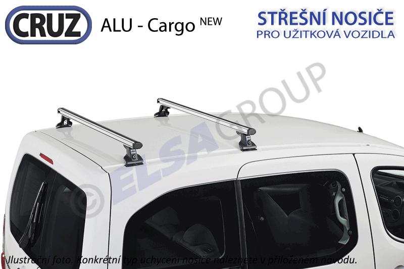 Strešný nosič Fiat doblo cargo / Opel combo (12-), cruz alu cargo