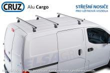 Střešní nosič Peugeot Bipper 08-, Cruz Alu Cargo