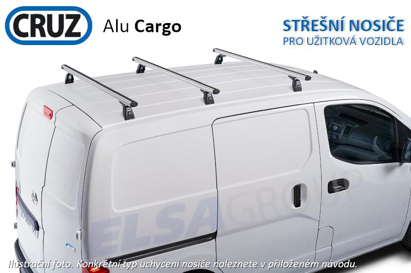 Strešný nosič nissan nv400 10-, cruz alu cargo