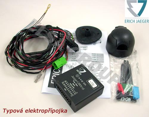 Typová elektroinštalácia dacia logan pick-up 2009-, 13pin, erich jaeger