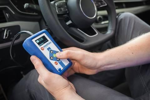 Westfalia autocode mini, voucher pre nakódování vozu s ťažným zariadením