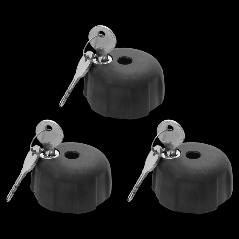 Doplňující uzamykatelné růžice, 3 kusy včetně klíčů
