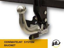 Tažné zařízení Lancia Ypsilon 2003-2011 , bajonet, GDW