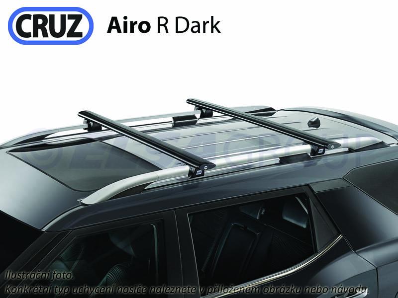 Strešný nosič Hyundai santa fe (II) (s podélníky), cruz airo-r dark