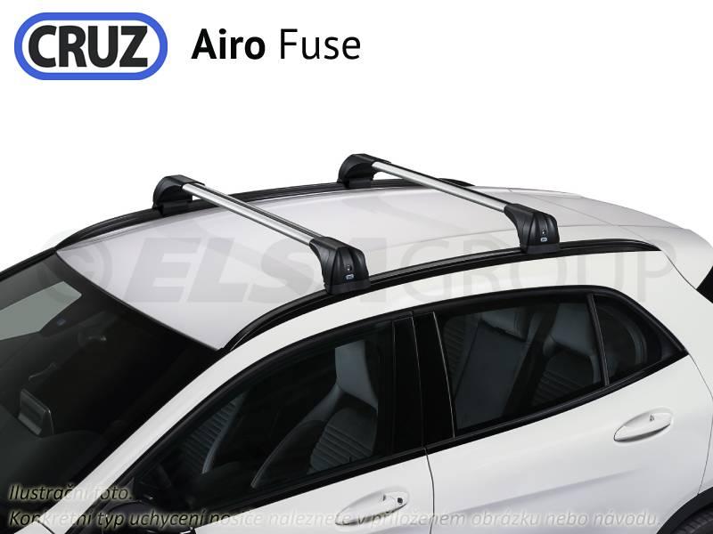 Střešní nosič OPEL Zafira C Tourer (bez podélníků), CRUZ Airo Fuse