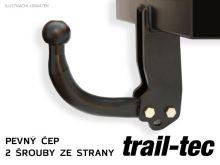 Tažné zařízení Jeep Wrangler 1996-2007 (TJ) , pevné, Trail-Tec