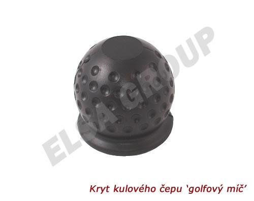 Kryt kulového čapu 'golfový míč'