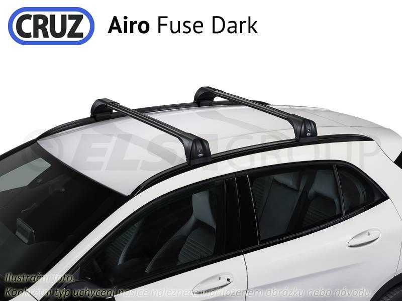 Střešní nosič Peugeot 207 3/5dv., CRUZ Airo Fuse Dark