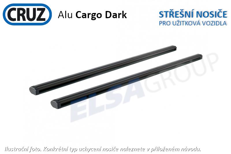 Střešní nosič Tata Xenon 07-, CRUZ ALU Cargo Dark