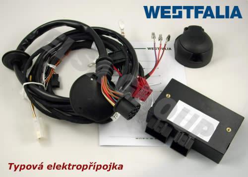 Typová elektroinštalácia audi a8 2013/11- , 13pin, westfalia