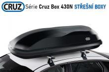 Střešní box CRUZ Box 430N, lesklá černá