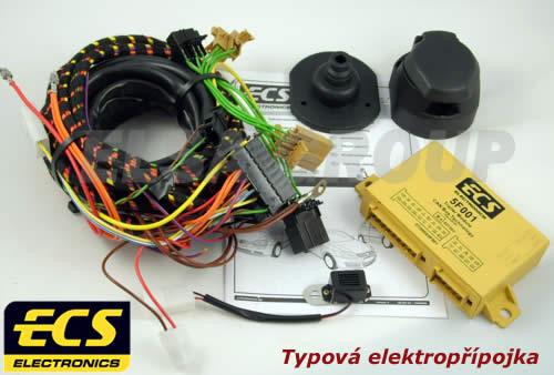 Typová elektropřípojka Seat Toledo 2004-2012 (5P) , 7pin, ECS