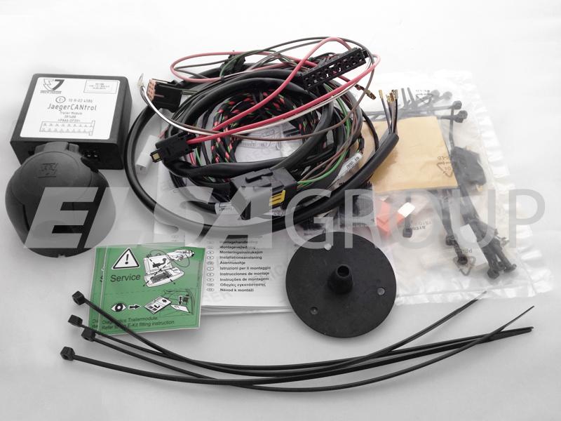Typová elektroinštalácia Renault clio hb 2009-2012 (III), 7pin, erich jaeger