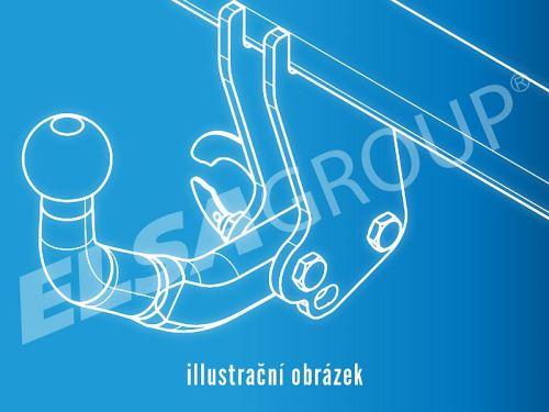 Doplňková sada pro 4-děrový přírubový čep 022-834