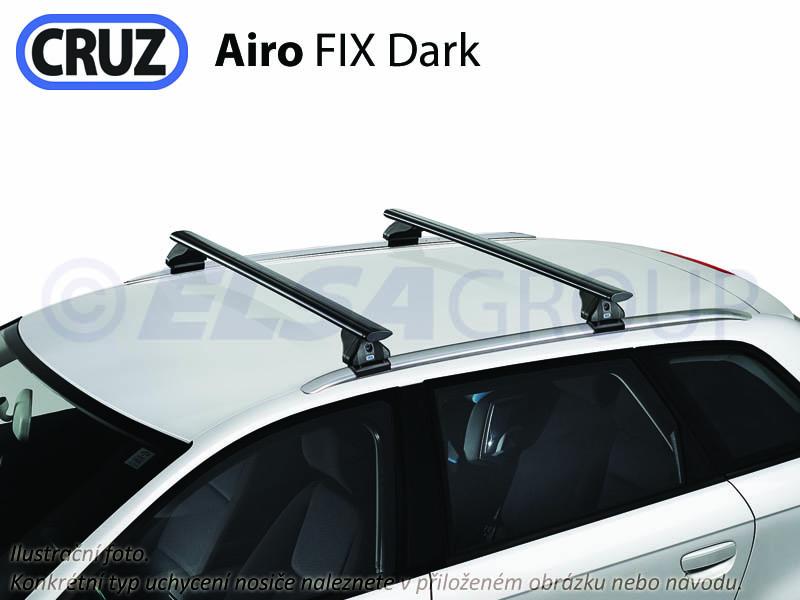 Střešní nosič Volvo V60 kombi (integrované podélníky), CRUZ Airo FIX Dark