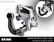 Tažné zařízení Mercedes Benz CLA Shooting Brake 2015- (X117) , automat sklopný, BRINK