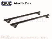 Střešní nosič BMW X5 5dv.13-18 (integrované podélníky), CRUZ Airo Dark