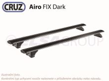 Střešní nosič Fiat Tipo SW 16- (integrované podélníky), CRUZ Airo FIX Dark