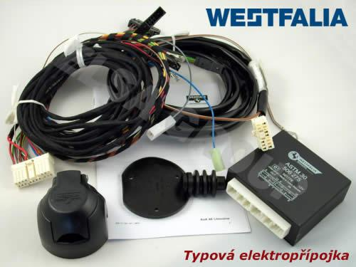 Typová elektroinštalácia Ford mondeo sedan 2015-, 13pin, westfalia