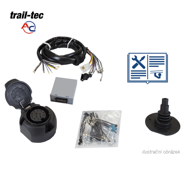 Typová elektroinštalácia land rover range rover 2002-2005 (l322) , 13pin, ac