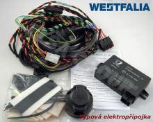 Typová elektropřípojka Audi Q2 2016- s přípravou, 13pin, Westfalia
