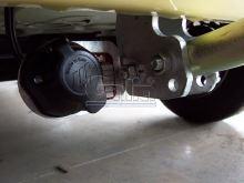 Tažné zařízení Fiat Panda 2WD/4WD, 2003 - 2011