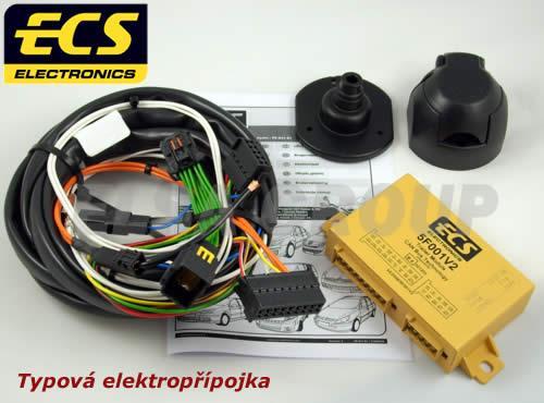Typová elektropřípojka Toyota Proace 2012-2016 , 7pin, ECS