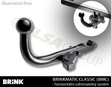 Tažné zařízení Peugeot 308 HB 2013-, odnímatelný BMC, BRINK