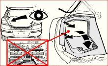 Doplňková sada pro napájení modulu EP ve vozech Opel bez REC