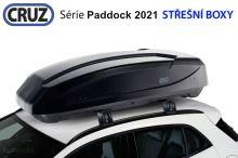 Střešní box CRUZ Paddock 470N, lesklá černá