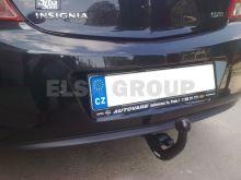 Tažné zařízení Opel Insignia HB+sedan+kombi 2+4WD, 2008 - 2013