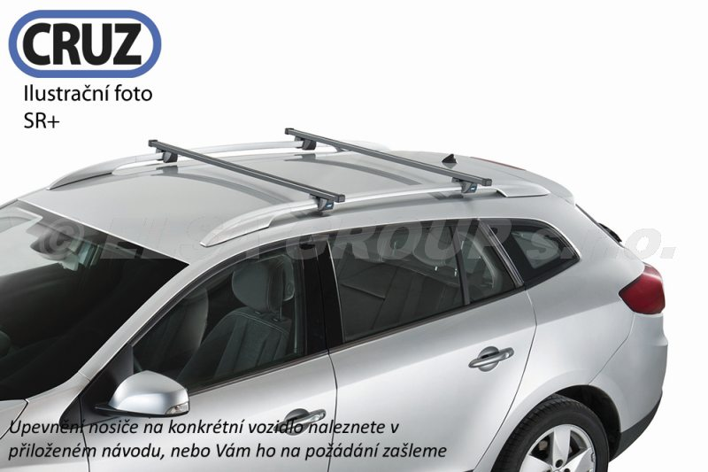 Strešný nosič Peugeot partner s podélníky, cruz