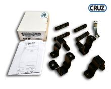 Sada 4 fixačních adaptérů pro modulární koše Cruz na ocelové tyče 35x35