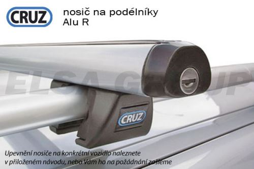 Střešní nosič na podélníky CRUZ ALU-R 108