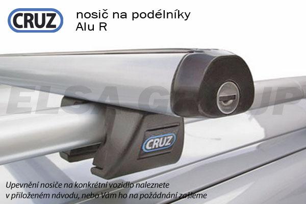 Střešní nosič Peugeot 206 SW kombi na podélníky, CRUZ ALU