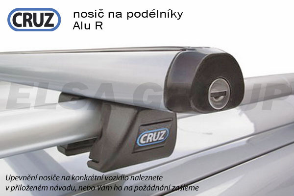 Střešní nosič Volvo V70 kombi (na podélniky), CRUZ ALU