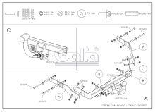 Tažné zařízení Citroen Xsara Picasso, 2000 - 2011