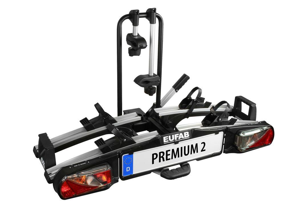 Nosič kol Eufab Premium II - 2 kola, na tažné zařízení