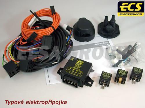 Typová elektropřípojka Fiat Doblo I 2000-2010 , 13pin, ECS